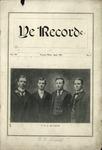 Ye Recorde, 1903-04