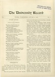 Ye Recorde, 1896-01-15 by Associated Students of the University of Puget Sound