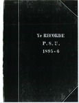 Ye Recorde, 1895-11-15 by Associated Students of the University of Puget Sound