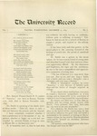 Ye Recorde, 1895-12-15 by Associated Students of the University of Puget Sound