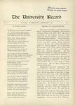 Ye Recorde, 1896-02 by Associated Students of the University of Puget Sound