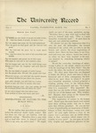 Ye Recorde, 1896-03 by Associated Students of the University of Puget Sound