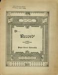 Ye Recorde, 1897-06