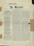 Ye Recorde, 1899-07 by Associated Students of the University of Puget Sound
