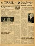 The Trail, 1964-10-01 by Associated Students of the University of Puget Sound, Denny Hinton, Pete Buechel, Dennis Hale, Lynn Johnson, Karyl Krah, Mary Ann Eddy, Ron Mann, Edward Adams, and Kathleen Heritage