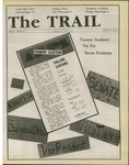 The Trail, 1985-02-21 by Associated Students of the University of Puget Sound