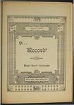 Ye Recorde, 1897-04