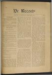 Ye Recorde, 1900-02
