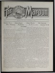The Maroon, 1910-11-25 by Associated Students of the University of Puget Sound