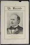 Ye Recorde, 1901-10